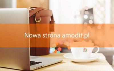 Nowa strona internetowa amodit.pl
